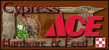 Cypress Ace Hardware Logo