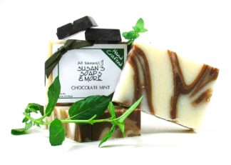 chocolate-mint-soap-bar