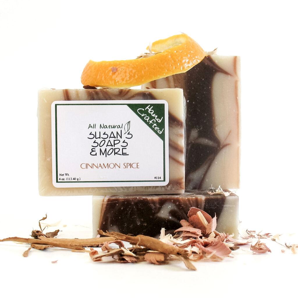 Cinnamon Spice Handmade Soap