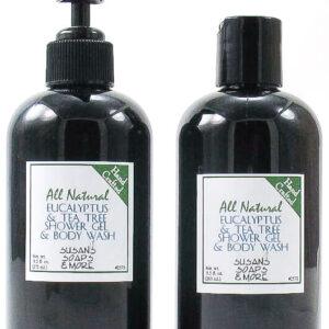 Eucalyptus & Tea Tree Shower Gel and Body Wash