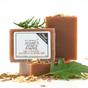 Hill Country Solid Shampoo Bar