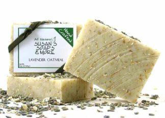 Lavender Oatmeal Soaps