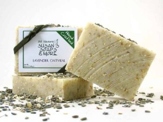 Lavender Oatmeal Natural Soap Bars