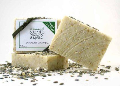 Lavender Oatmeal Natural Soap Bars
