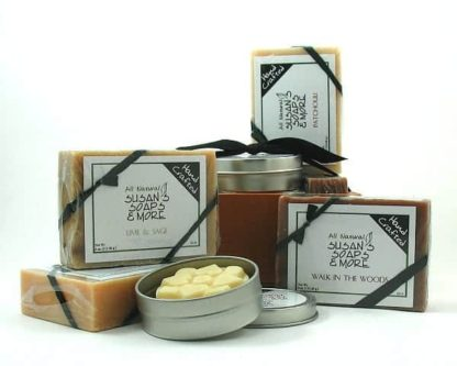 Natural Soap Gift Set for Men