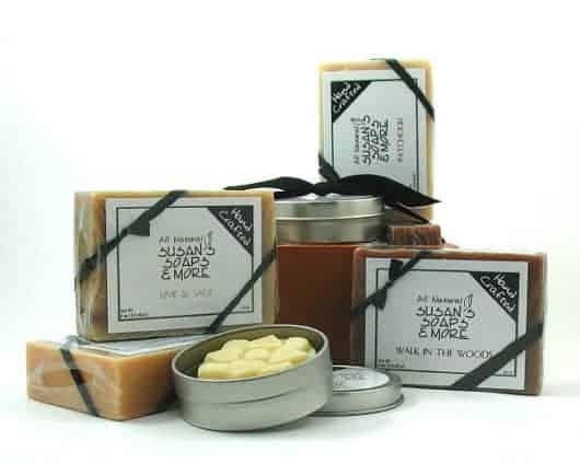Natural Soap Gift Set for Men
