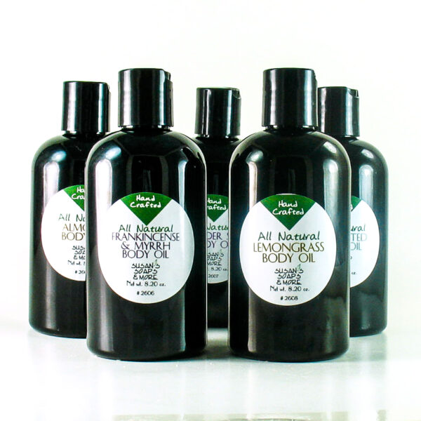 Natural Body Oil with Essential Oils