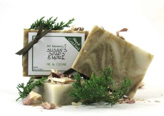 Natural Fir and Cedar Soap Bars