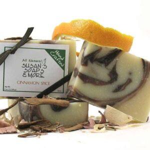 Cinnamon Spice Natural Soap Bars