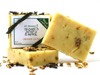 Orange Clove Natural Soap Bars