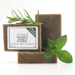 Rosemary Mint Solid Shampoo Bar