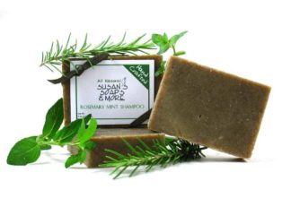 Rosemary Mint Solid Shampoo Bars