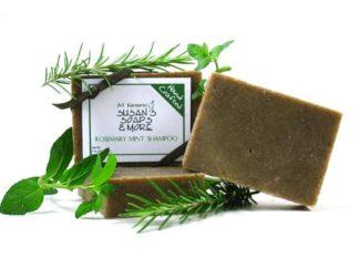 Rosemary Mint Solid Shampoo Bars