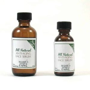 Anti-aging natural face serum