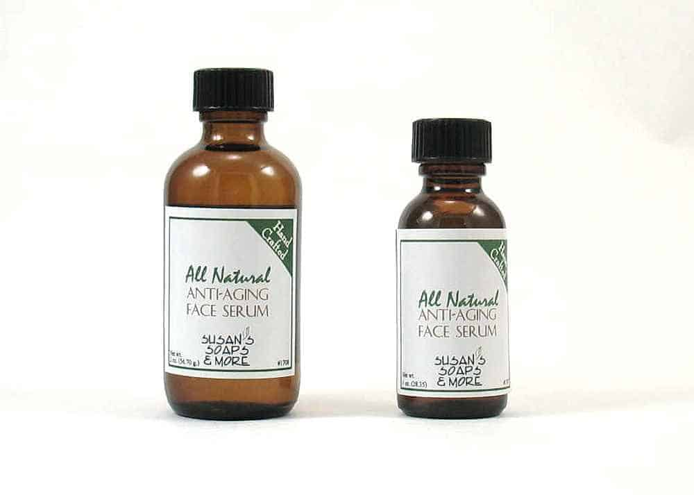 Anti-aging natural face serum