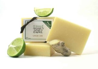Ginger Lime Natural Soap Bars