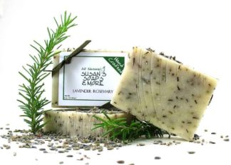 Lavender Rosemary Natural Soap Bars