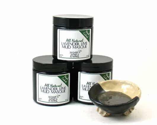 Dead Sea Mud Masque - Lavender Lime