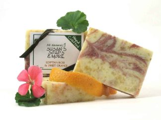 Egyptian Rose and Sweet Orange Natural Soap Bars