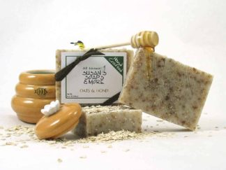 Natural Unscented Oatmeal & Honey Soap Bars