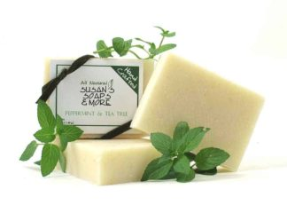 Peppermint and Tea Tree Natural Soap Bars