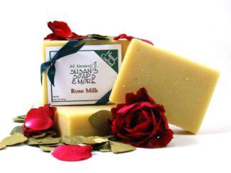 Rose Milk Soap Bars