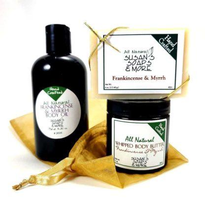 Frankincense & Myrrh Gift Set