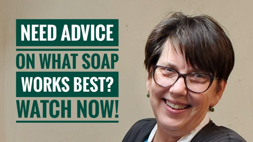 What Soap Works Best - Video Interview with Susan