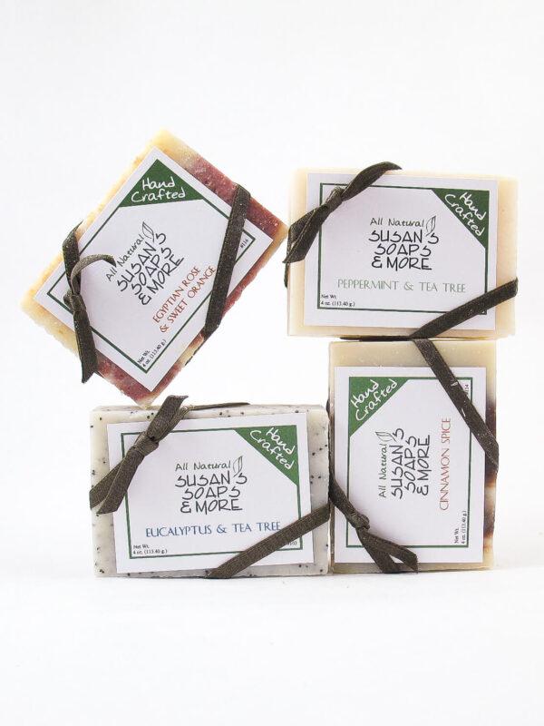 4 Soap Bars