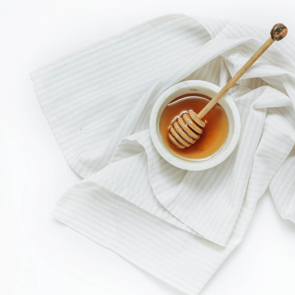 Honey in a Dish