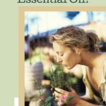 Woman smelling scent of Rosemary Pin
